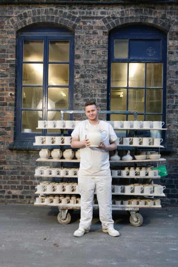 Emma Bridgewater's factory in Stoke-on-Trent relies on its skilled local workforce.