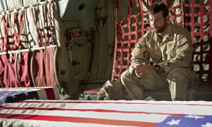 Bradley Cooper as the late Chris Kyle in American Sniper, a film 'ringing with patriotic fervour'