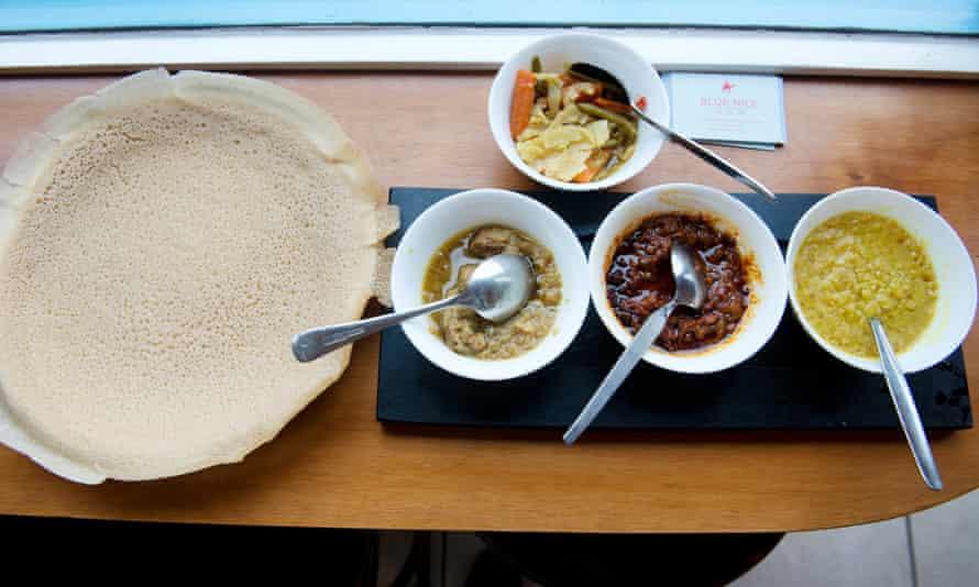 Blue Nile food