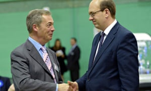 Nigel Farage and Mark Reckless celebrate winning Rochester and Strood byelection