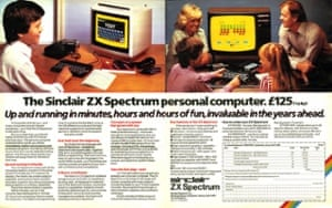A 1980s UK Spectrum Magazine advert