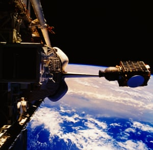 13. Satellite technology and its impact on the way many people live globally A communications Satellite.