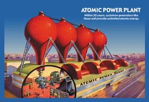 Atomic Power Plant poster circa 1939