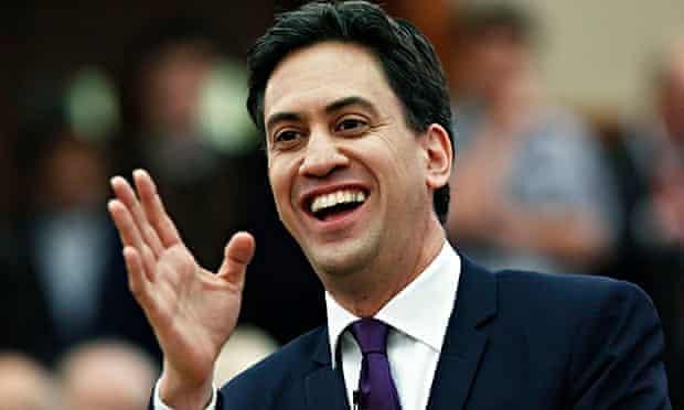 Ed Miliband Labour lead poll