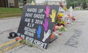 Michael Brown memorial