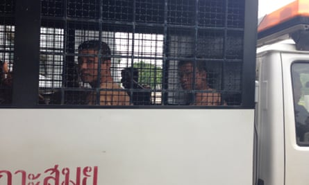 Zaw Lin (left) and Wai Phyo have retracted their confessions in the murder case.
