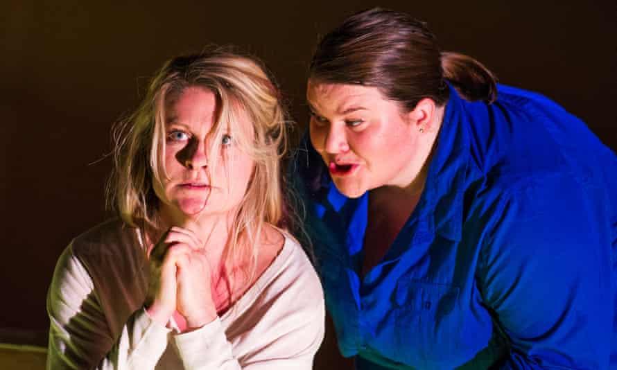 Patricia Bardon (Mary Magdalene) and Meredith Arwady (Martha).