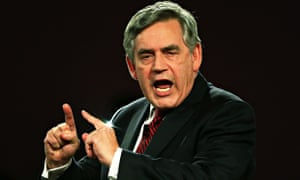 Gordon Brown, who is standing down as an MP at the general election after 32 years as an MP