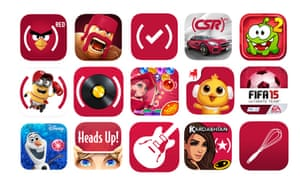 25 popular iOS apps are taking part in the Red campaign.