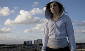 Katie Jarvis in film Fish Tank, in 2009.