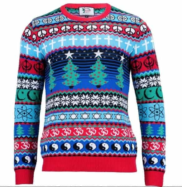 The multicultural Christmas jumper