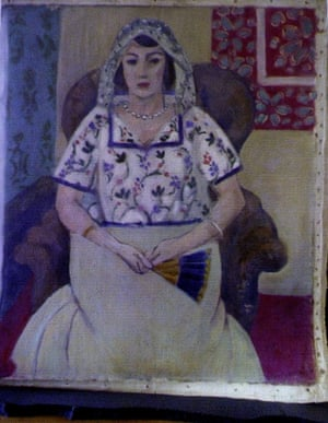Matisse's <em>Femme Assise</em>, or Seated Woman.