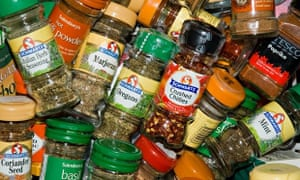 Is this your herb-and-spice cupboard?
