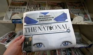 The National newspaper in Scotland