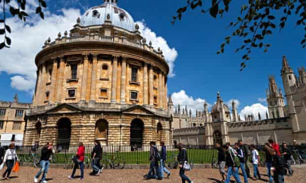 Radcliffe Square Oxford, summer afternoon