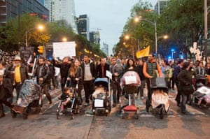 For a better future for México Civil society with their children go together for Ayotzinapa