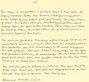 AMS love letter