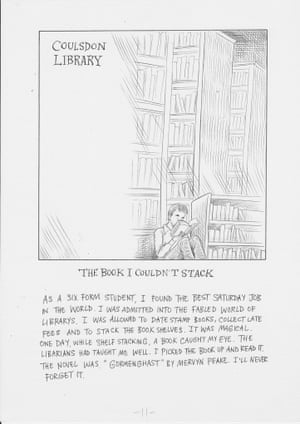 Chris Riddell love letter library