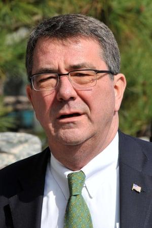 Former deputy secretary of defense Ashton Carter.