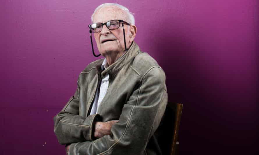 'We didn't have any hope at all that I could remember, until after 1945' ... Harry Leslie Smith. Photograph by Graeme Robertson for the Guardian