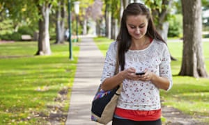 Texting can damage your spine