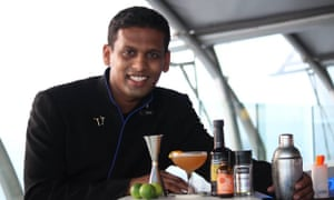 Varun Sudhakar at Aer Bar.
