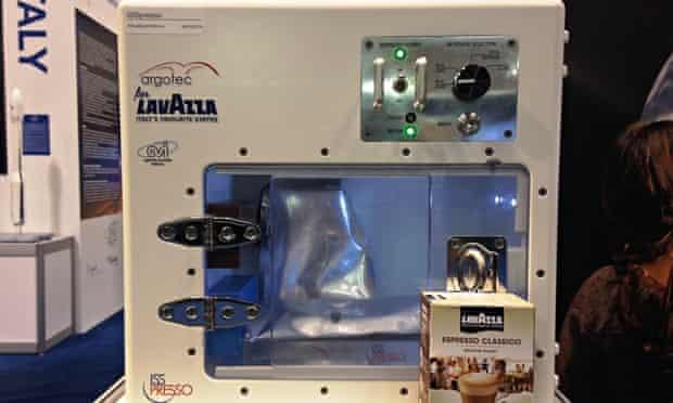 The ISSpresso machine