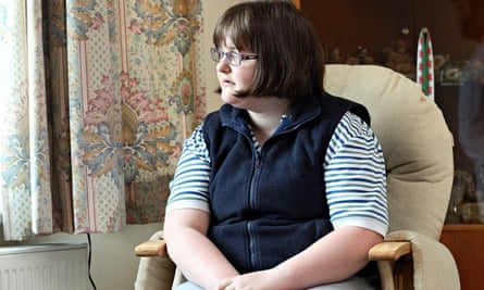 Clare Dyer, 20, now back in Swansea after three months in a Brighton psychiatric unit