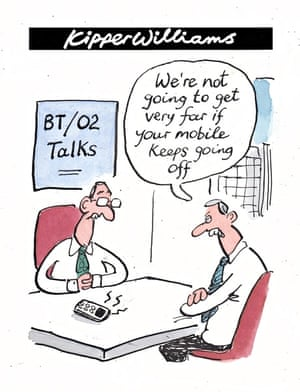 Kipper Williams on BT and O2