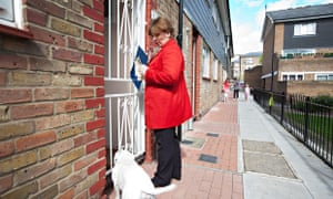 Emily Thornberry on canvassing