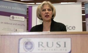 Theresa May announces new counter-terrorism bill
