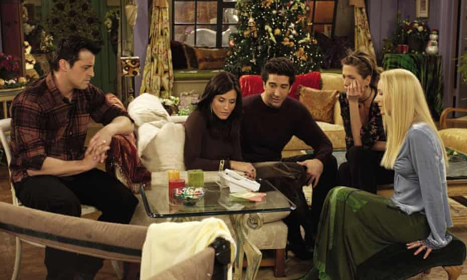 Friends' Christmas special –The One with Christmas in TulsaFriends.