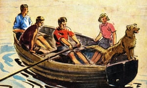 Enid Blyton's first Famous Five Children's Book Five on a Treasure Island, first published 1942.
