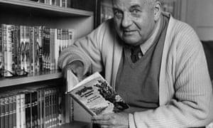 W E Johns, author of the Biggles books.