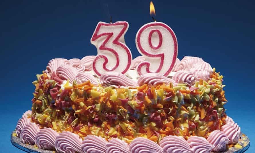 Milestone birthdays: 39