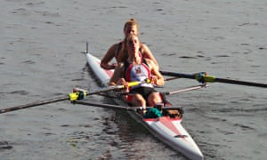 Mossbourne Academy pupils rowing