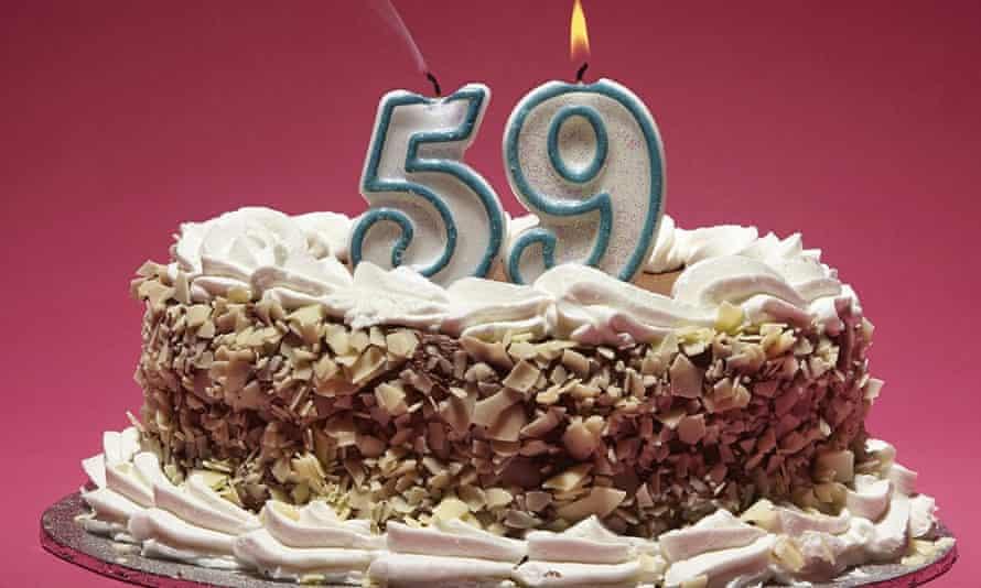 Milestone birthdays: 59