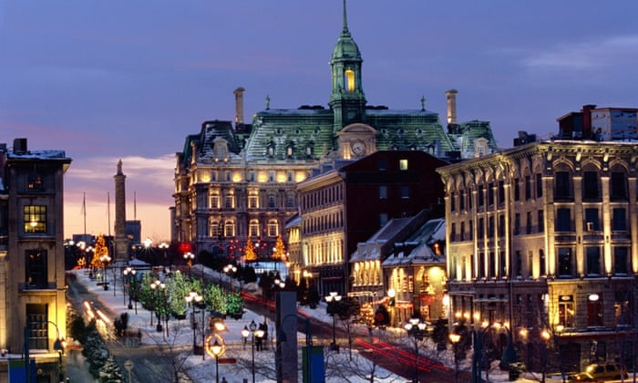 8. Montreal, Canada Montreal is sometimes said to be two cities in one, due to the 19 miles of underground tunnels beneath it. They house all kinds of student fare, such as cinemas, bars and shopping malls.  Montreal has the second highest score for student mix and moves up from 9th position last year.