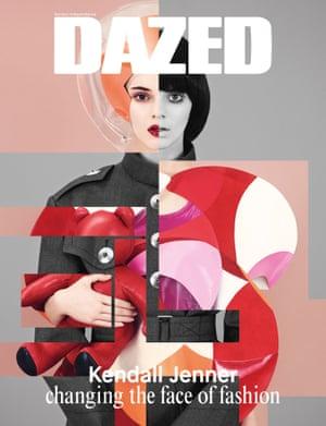 Kendall Jenner Dazed cover