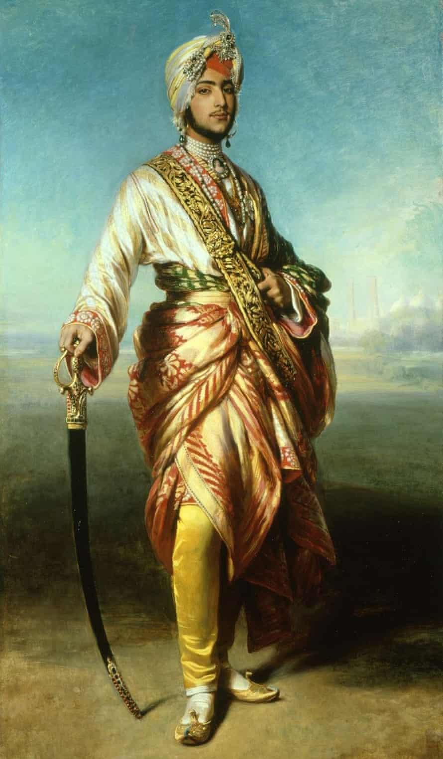 The Maharajah Duleep Singh by Franz Xaver Winterhalter