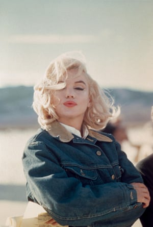 Eve Arnold's shot of Marilyn Monroe in 1960