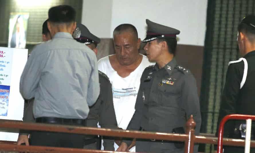 Former Central Investigation Bureau chief Pongpat Chayapan