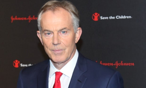 Tony Blair at the Save the Children Illumination Gala in New York City