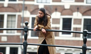 Lonely student in Amsterdam