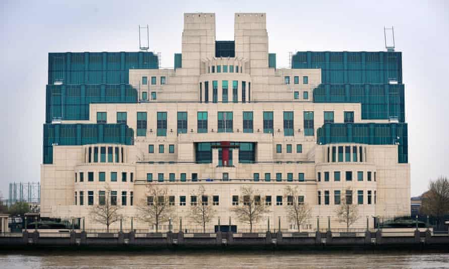 Secret Intelligence Service building in Vauxhall.