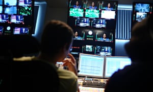 Russia Today control room