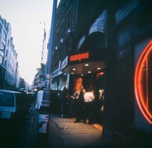 Marqee Club,  1975