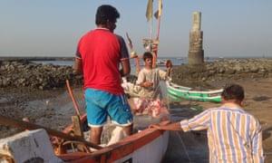 Saptarshi Ray fishing trip