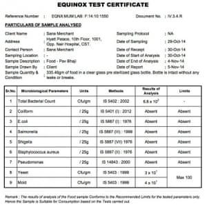 Equinox test