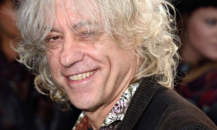Band Aid 30 Bob Geldof